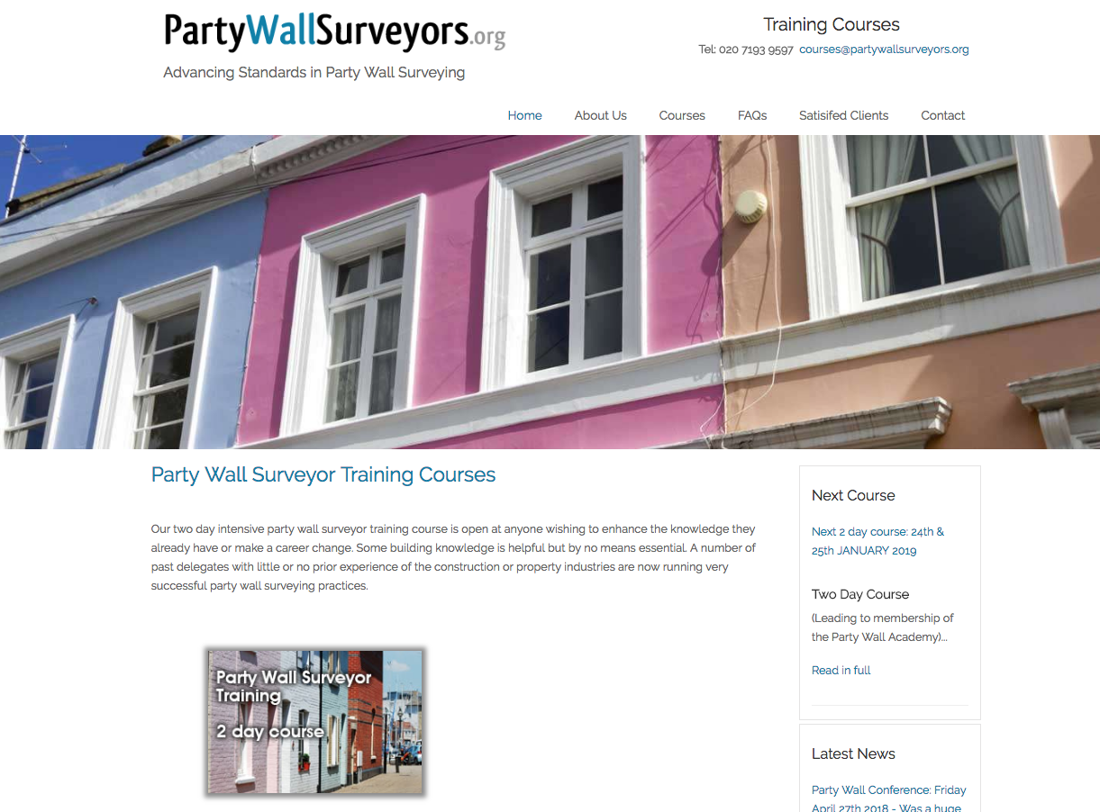 Party Wall Surveyors - Londres